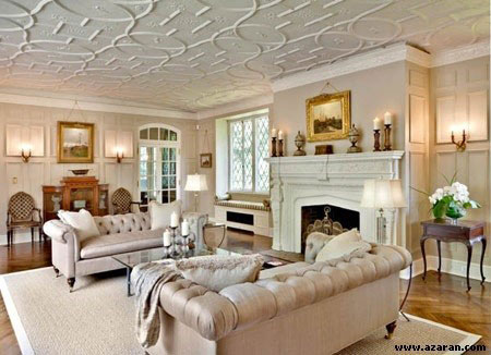 سقف کاذب,انواع سقف کاذب,طرح سقف کاذب