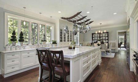 جا دادن قابلمه و ماهی تابه در آشپزخانه های کوچک,ایده هایی برای قابلمه ها در آشپزخانه های کوچک