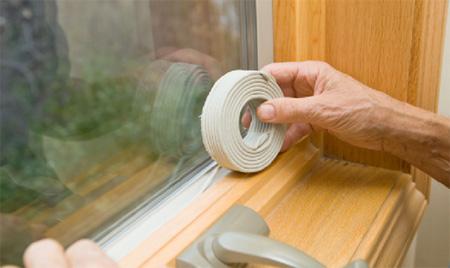 طرز عایق کاری در و پنجره ,روش های عایق کردن درب و پنجره