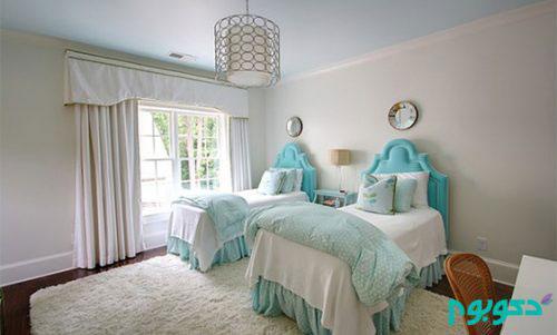 20 نمونه تخت خواب زیبا برای اتاق دوقلو ها