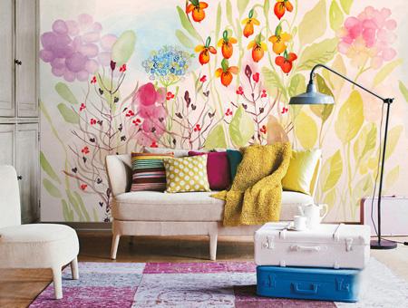ایده های رنگ آمیزی دیوارها,نحوه رنگ آمیزی دیوارها